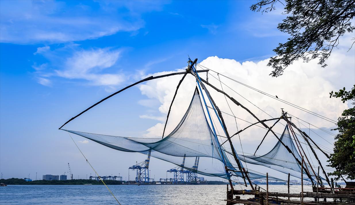 chinese fishing net in Kochi