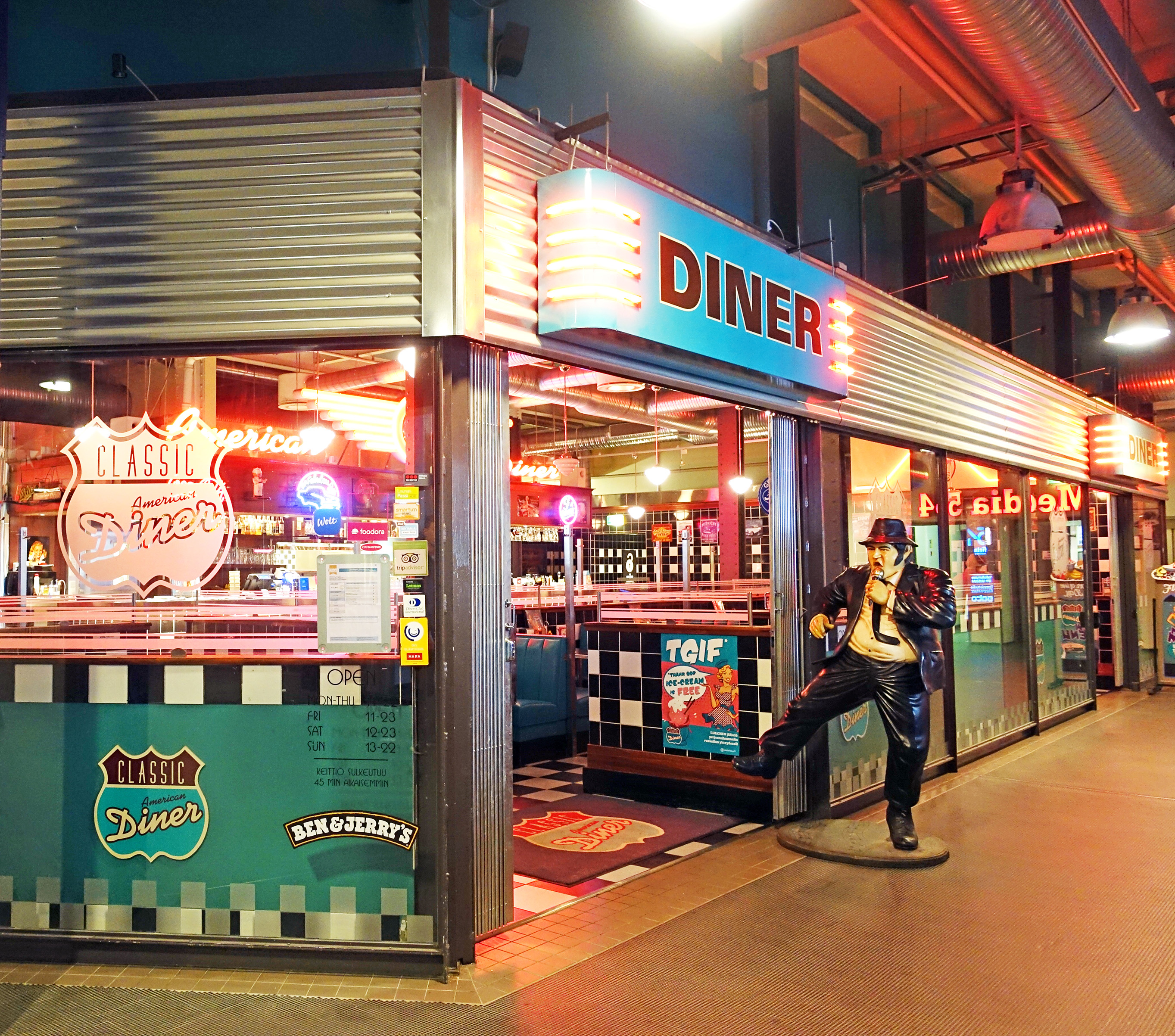 File Classic American Diner Jpg Wikimedia Commons