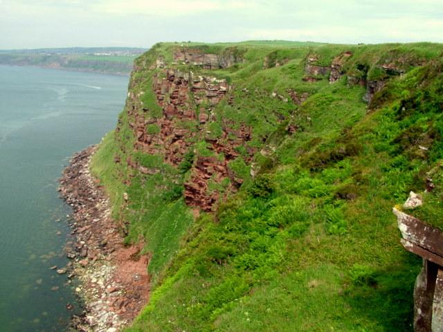 Cliffs overlooking Saltom Bay - geograph.org.uk - 615817