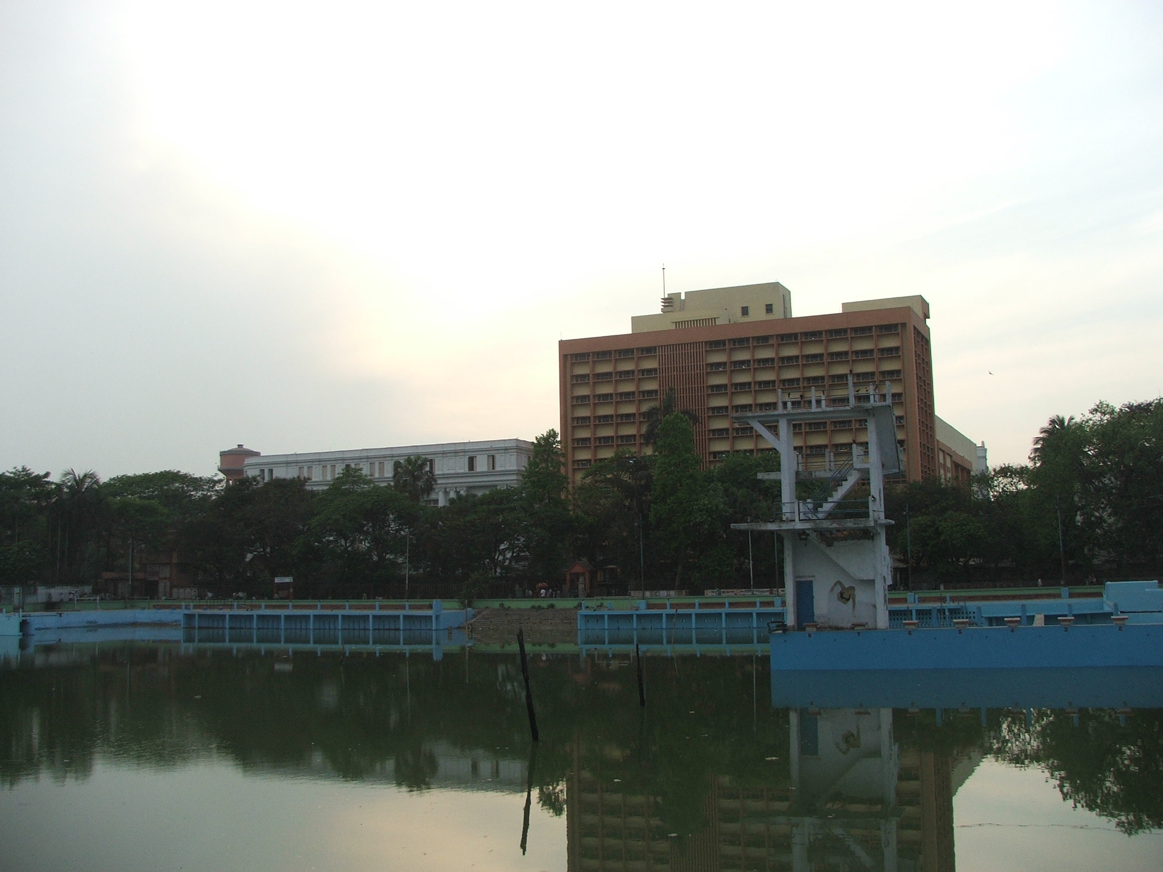 College Square, opposite the University of Calcutta
