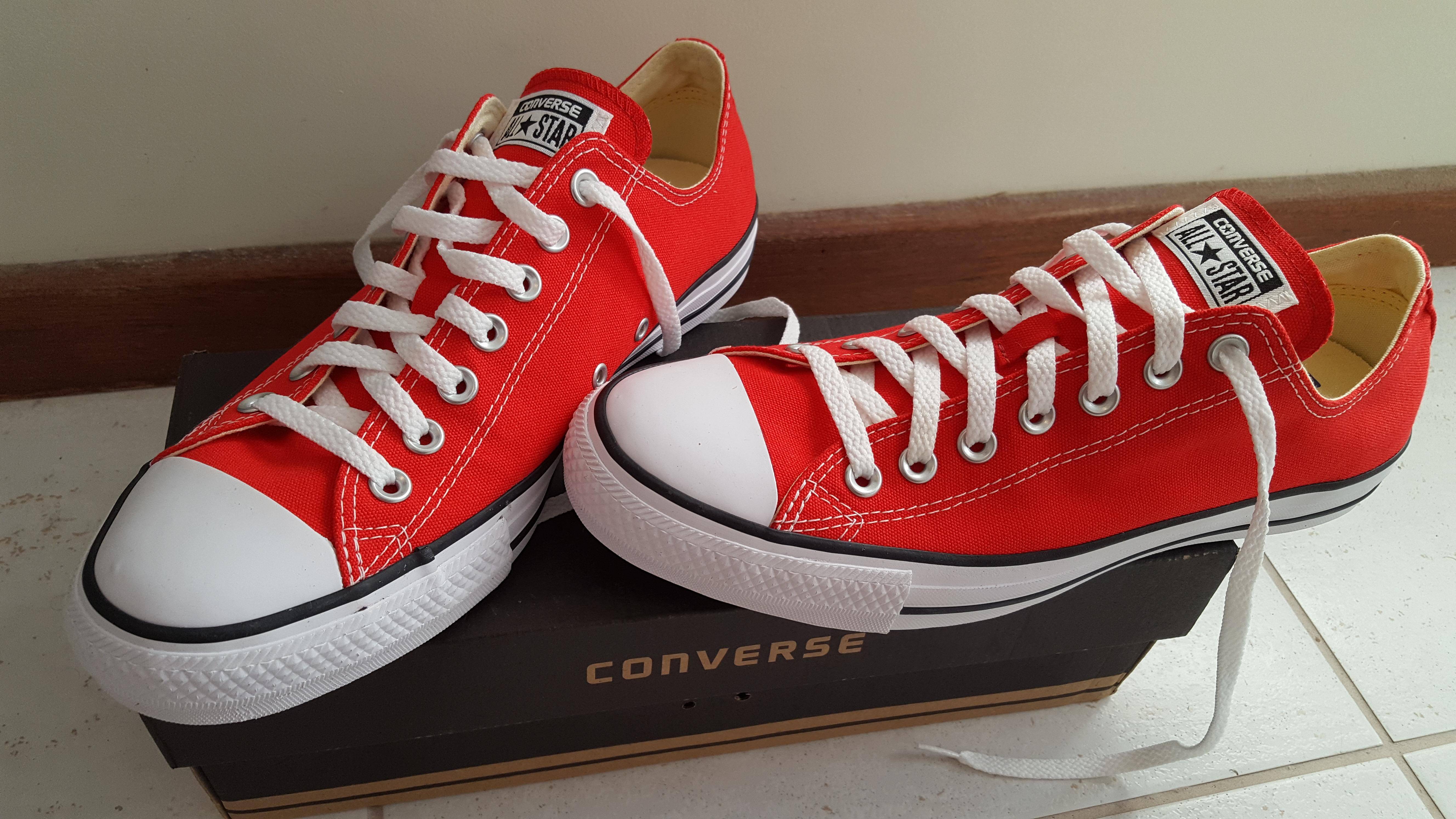 någonsin populär populära butiker nya bilder av File:Converse All Star low top red.jpg - Wikimedia Commons