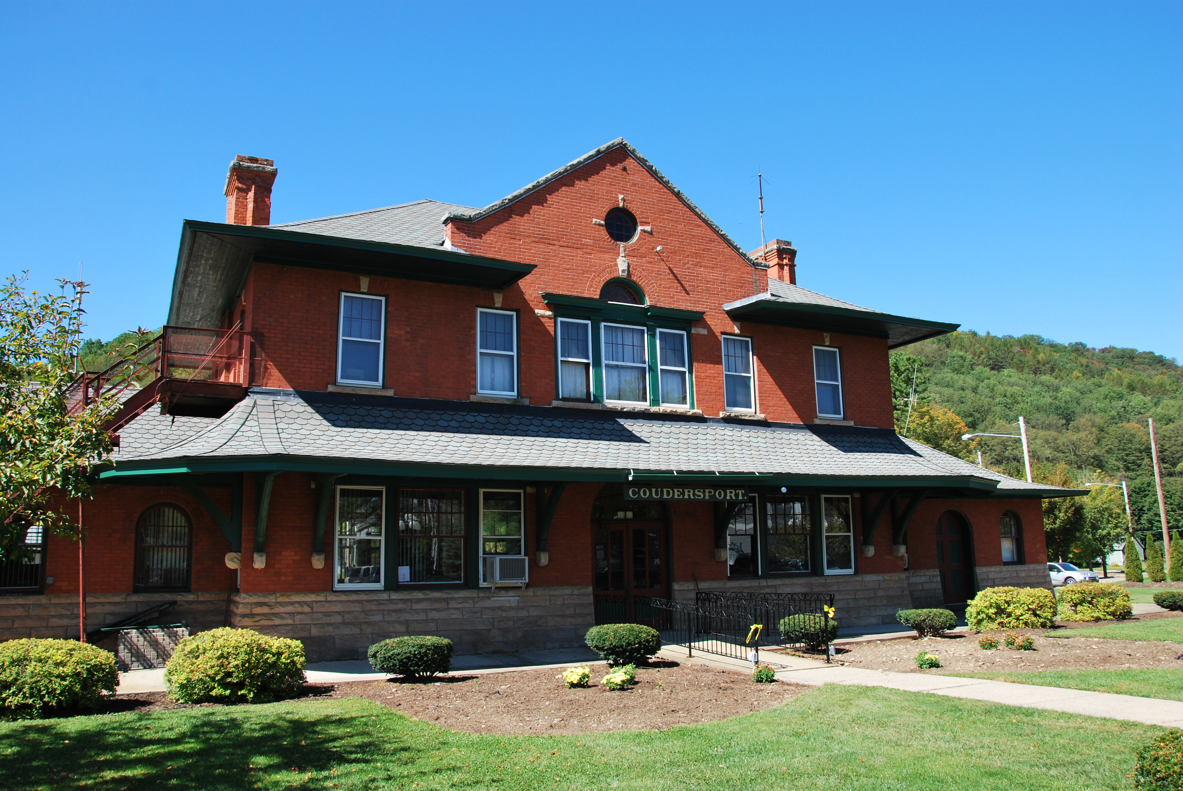Awe Inspiring Coudersport And Port Allegany Railroad Station Wikipedia Download Free Architecture Designs Rallybritishbridgeorg