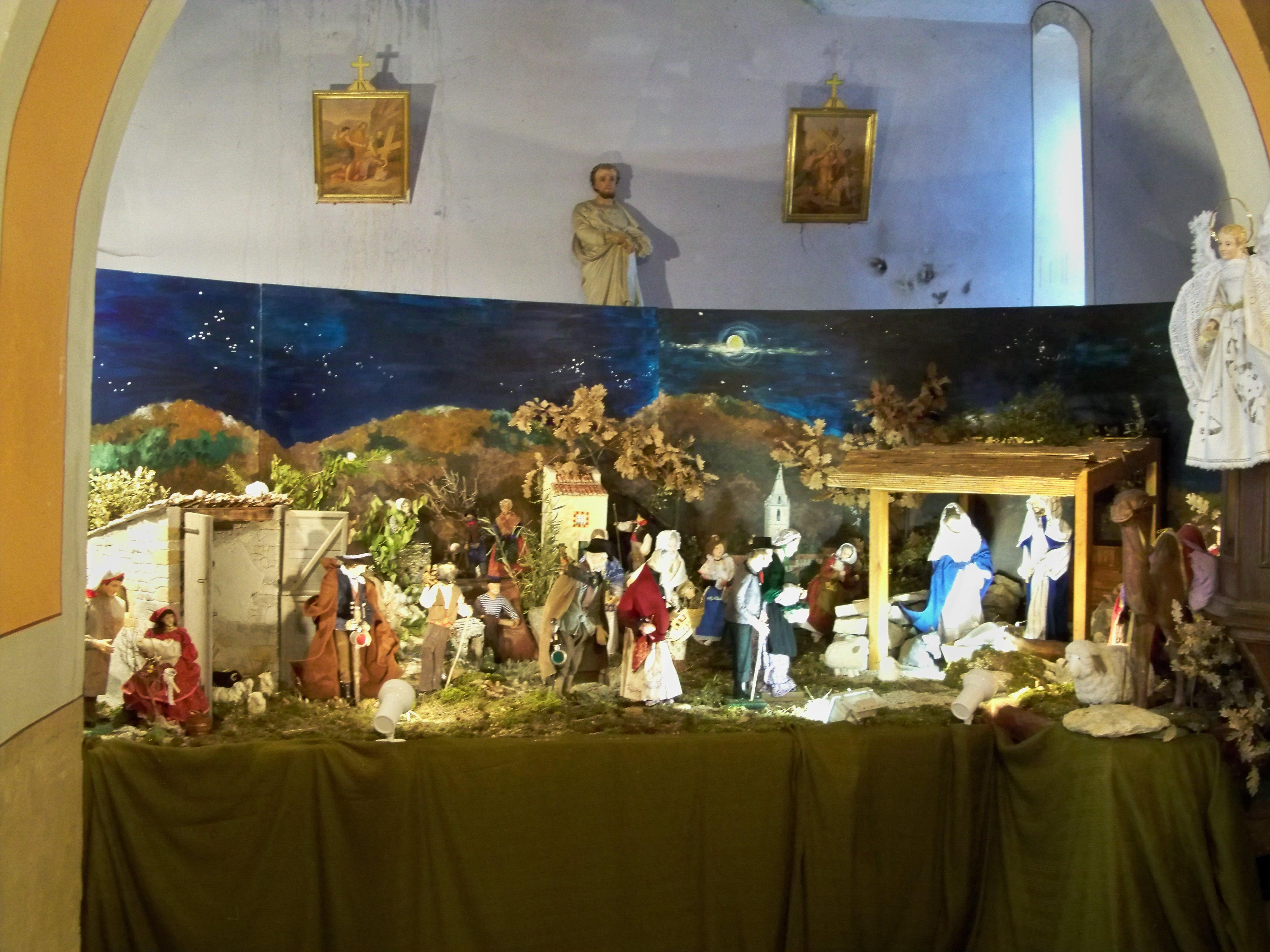 Village De Decoration De Noel