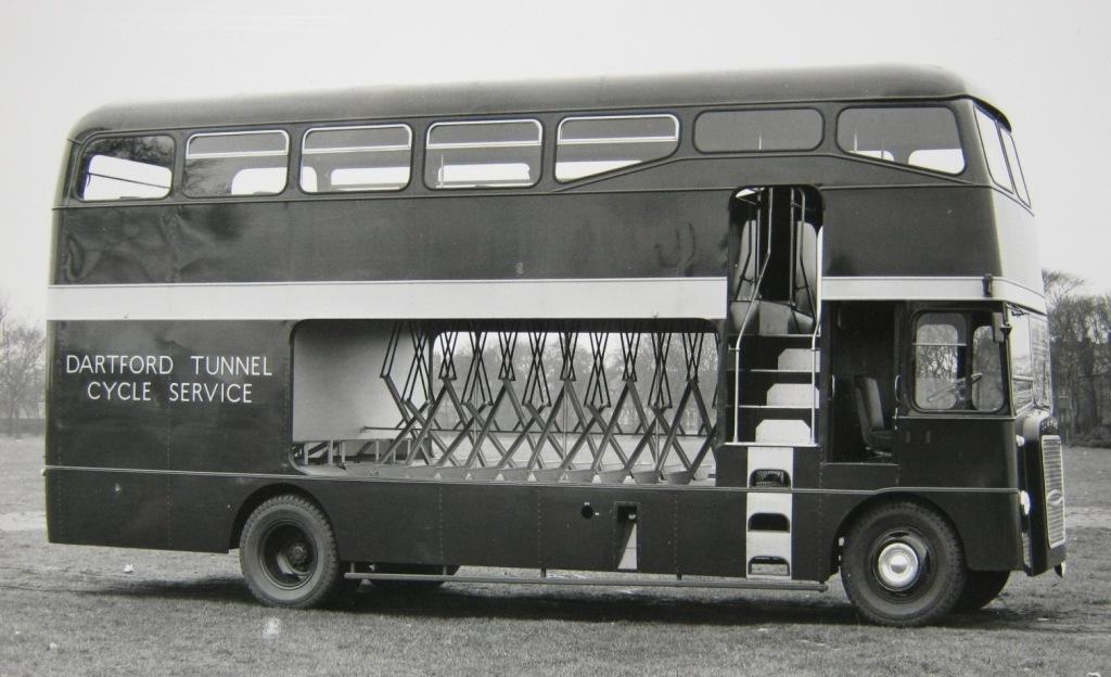 Dartford Tunnel Cycle Bus
