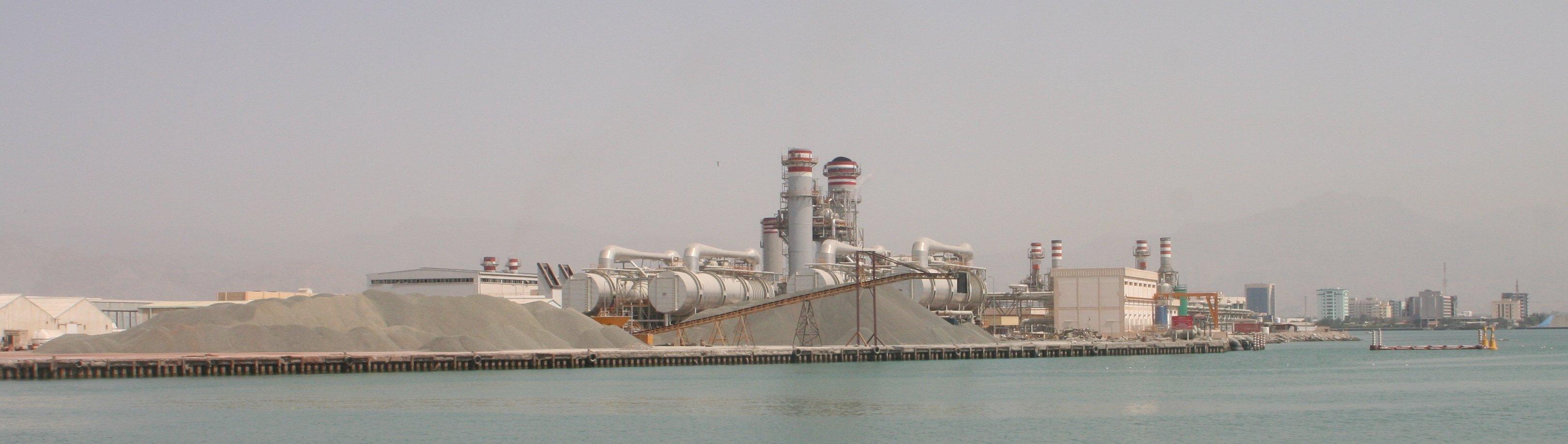 File Desalination plant RAK Wikimedia mons
