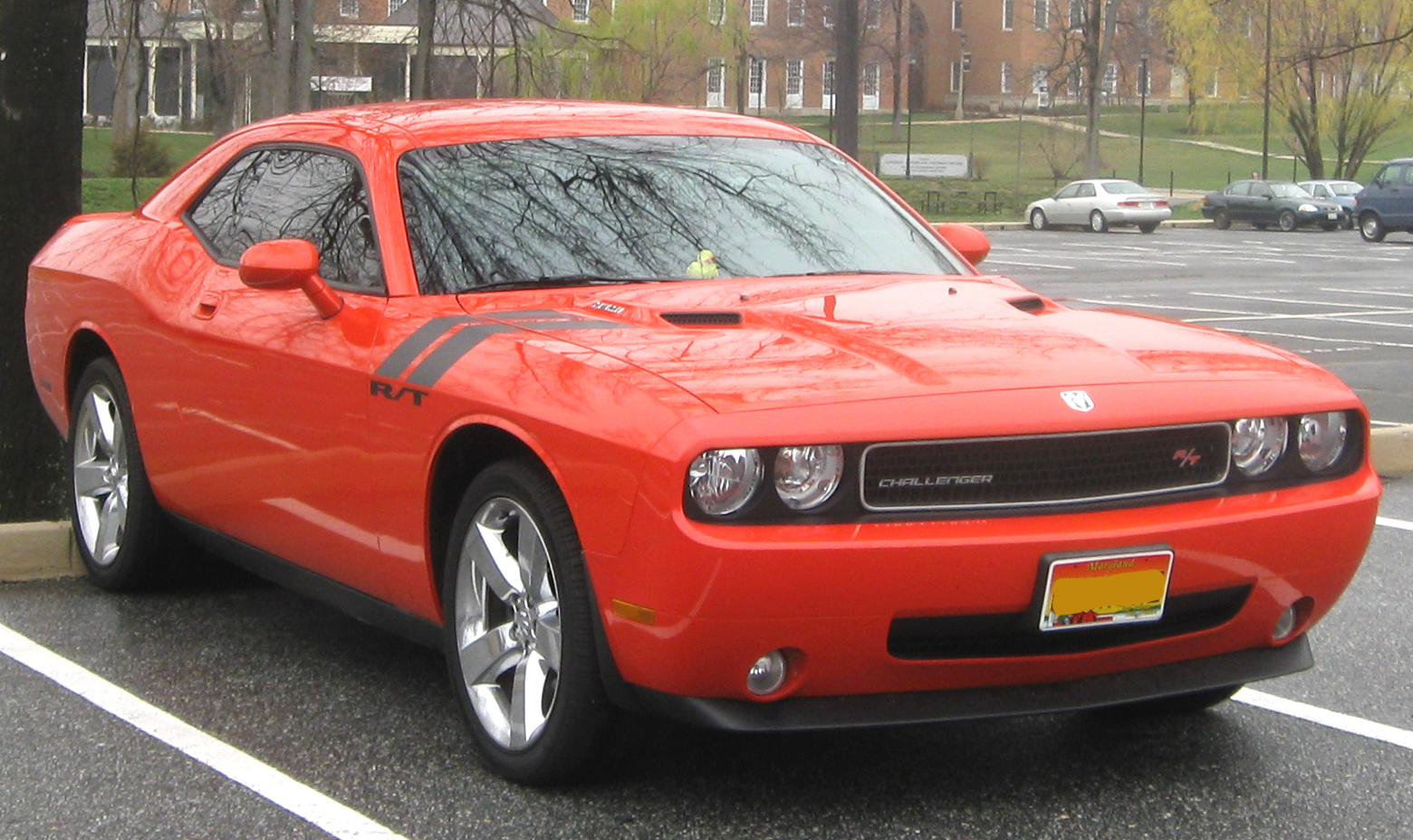 file dodge challenger rt 03 31 2011 wikimedia commons