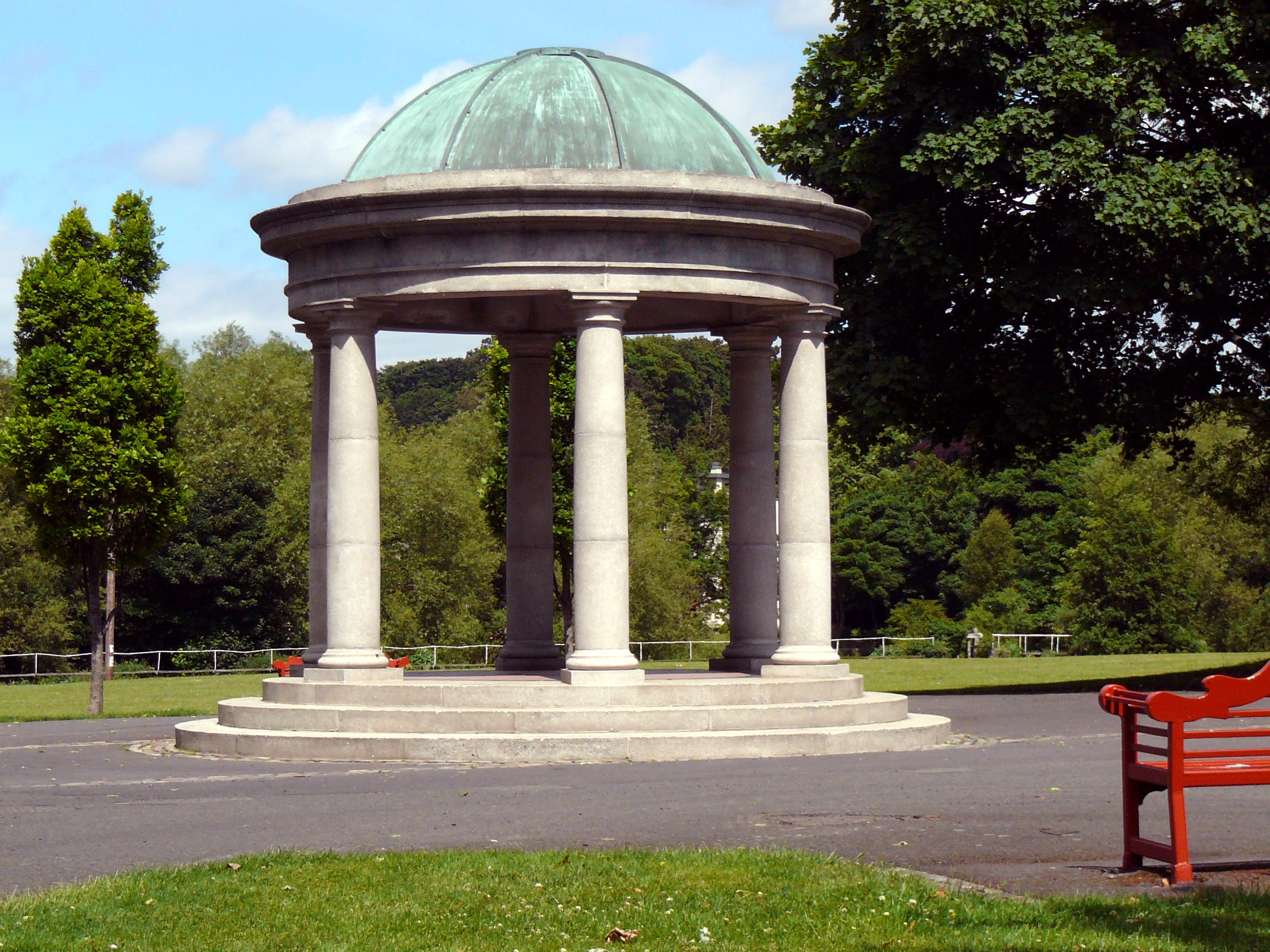 File Domed Temple Memorial Gardens Military