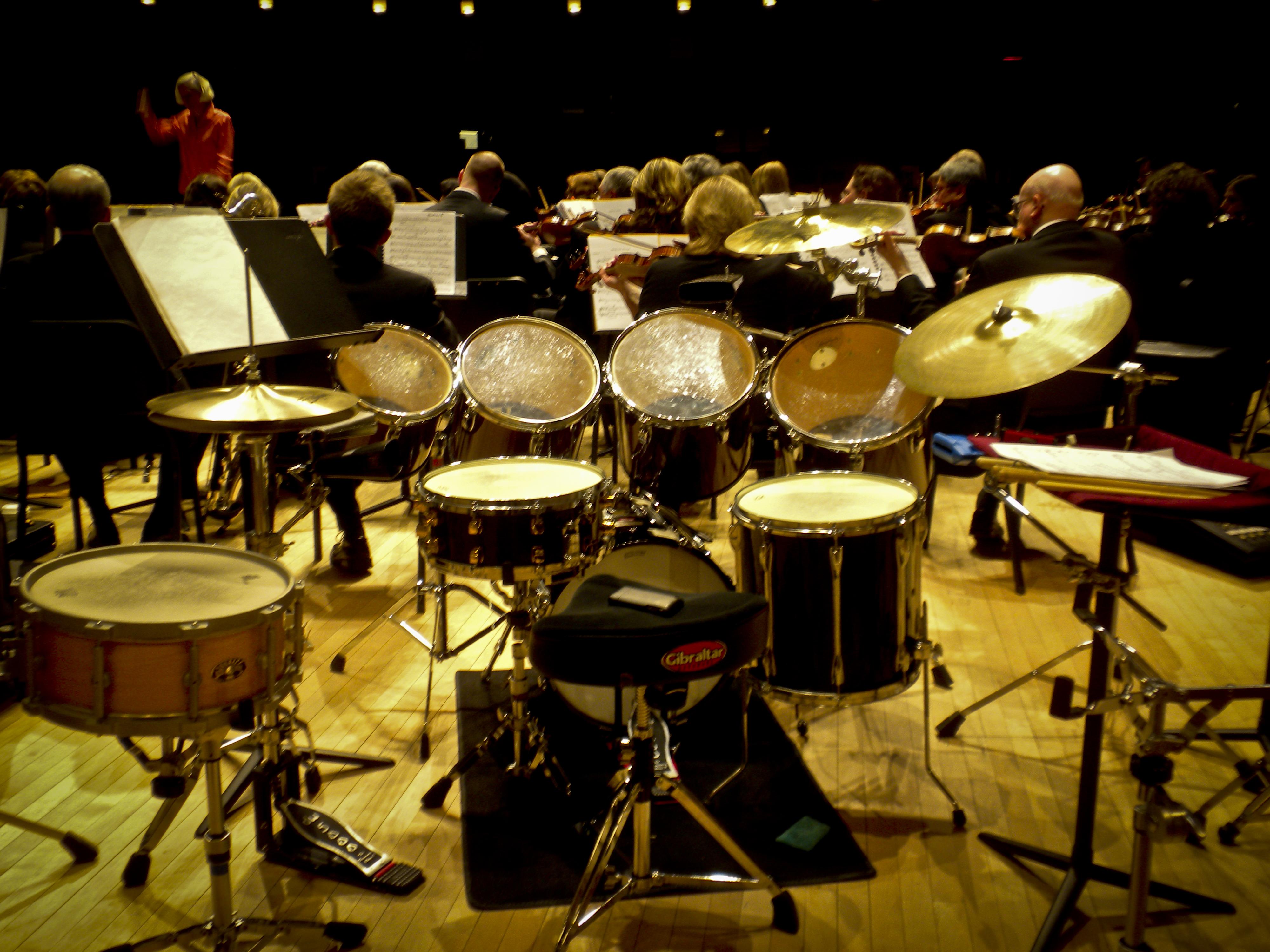 FileDrumset And Tom Tom Setup For Symphonic Dances From
