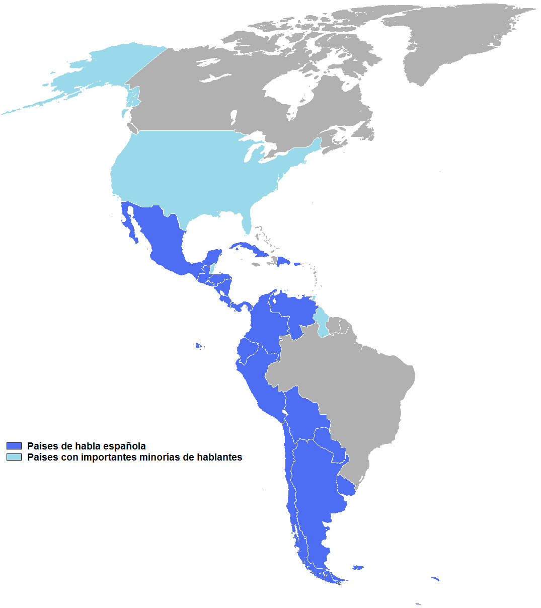 Resultado de imagen de español de america
