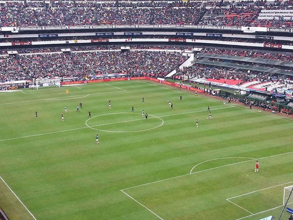 File estadio wikimedia commons for Puerta 1 estadio azteca
