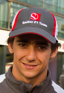 Esteban Gutiérrez in 2012.