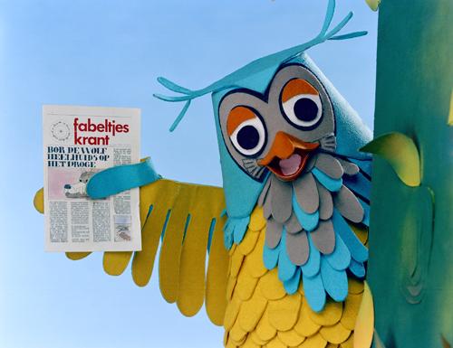 Mister the Owl with the Fabeltjeskrant