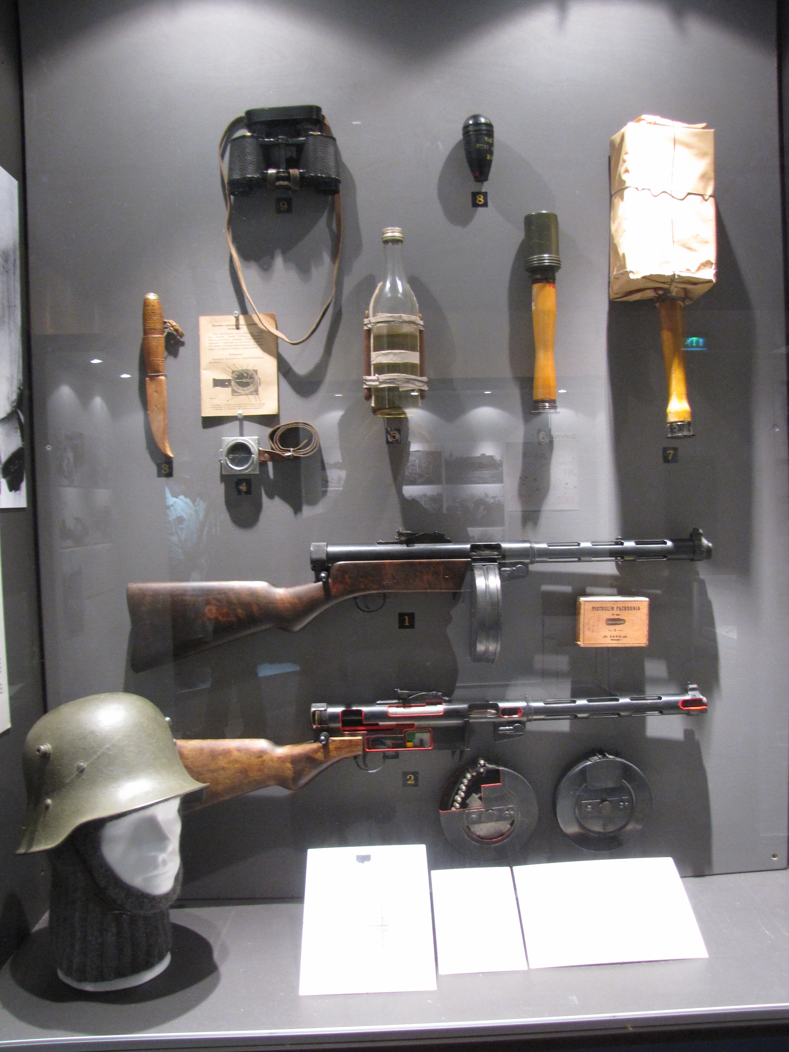Description finnish army weapons and equipment jpg