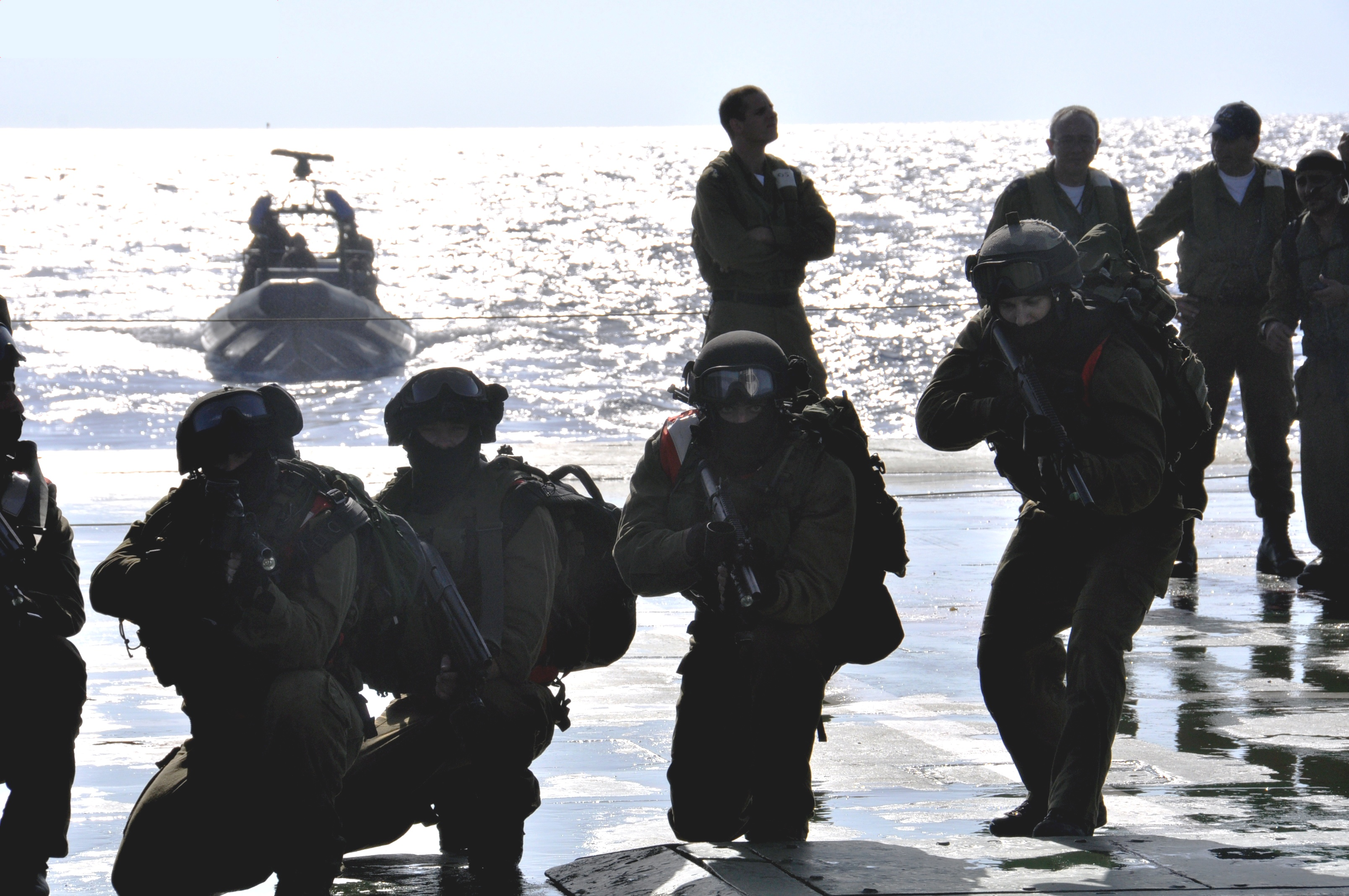 shayetet the elite naval commando unit  as the marine commando force, is of the elite special forces unit of the  a  dedicated special-forces unit other than the navy's shayetet 13.