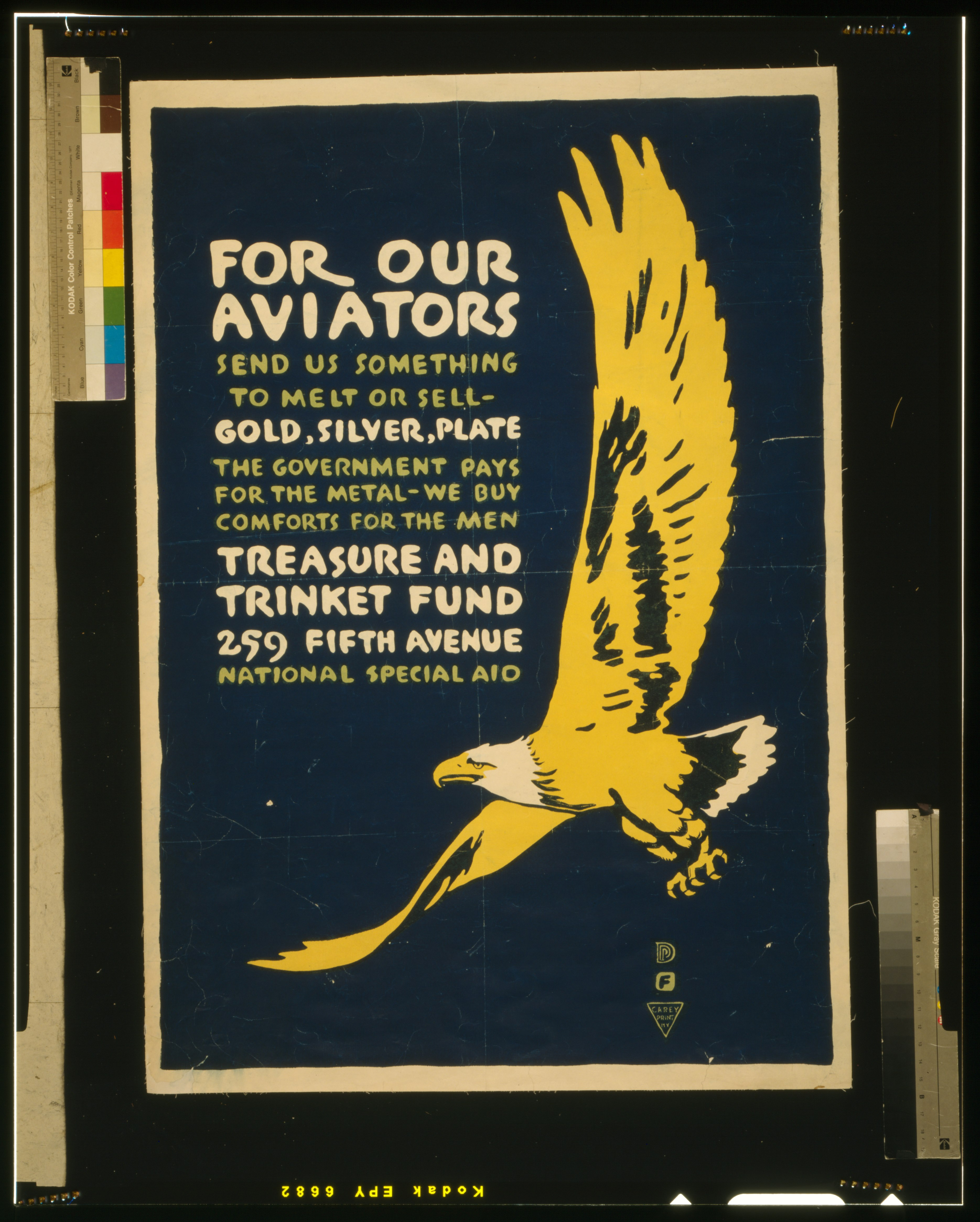 For our aviators-Send us something to melt or sell - gold, silver, plate LCCN2002709070