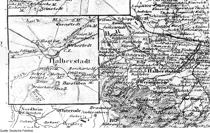 File Fotothek Df Rp A 0350014 Halberstadt Karte Aus Meyers