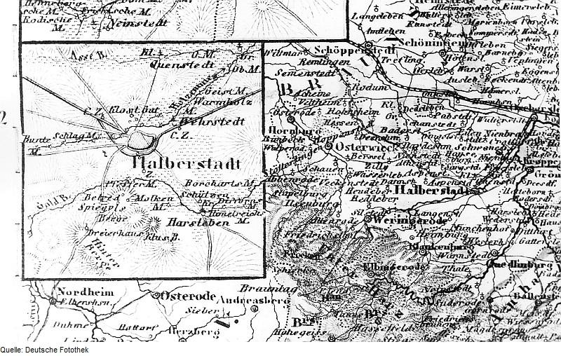Fotothek df rp-a 0350014 Halberstadt. Karte, aus, Meyers Atlas von Deutschland, 1850, Blatt Provinz Sachs.jpg