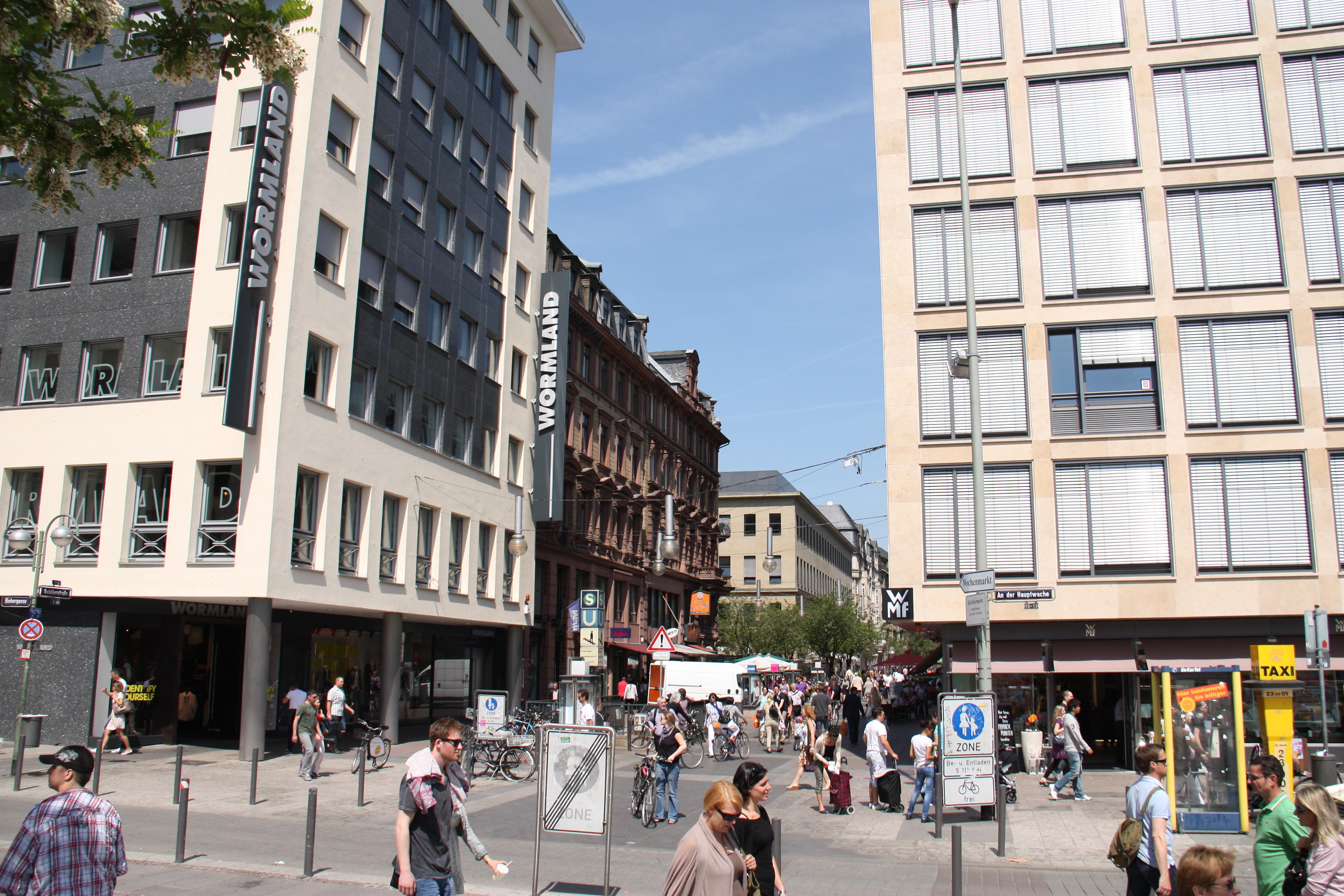 Parkhaus Schillerstraße Frankfurt