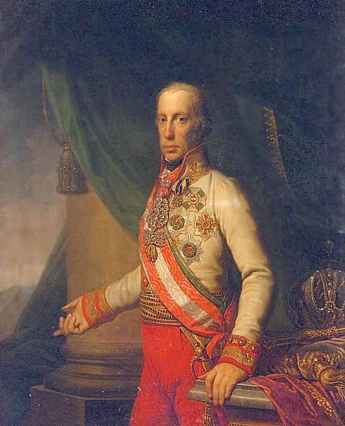 file franz i ii half length portrait in austrian uniform