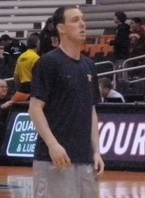 G-Mac during warmups.jpg