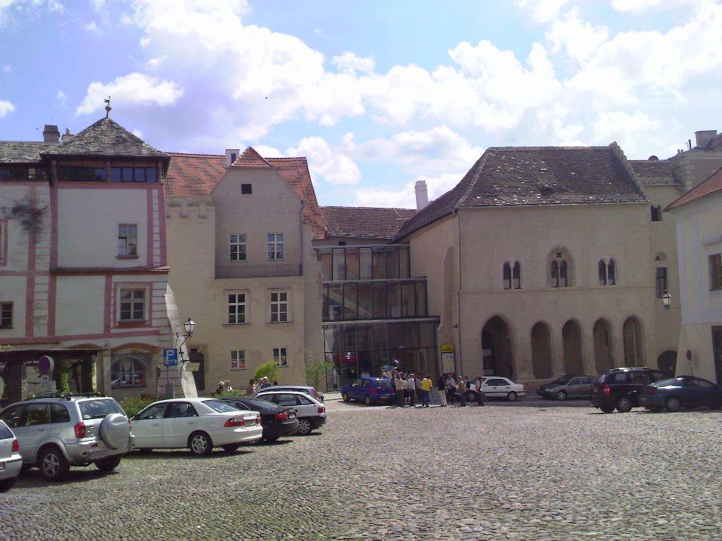 Gozzoburg Krems Außenansicht
