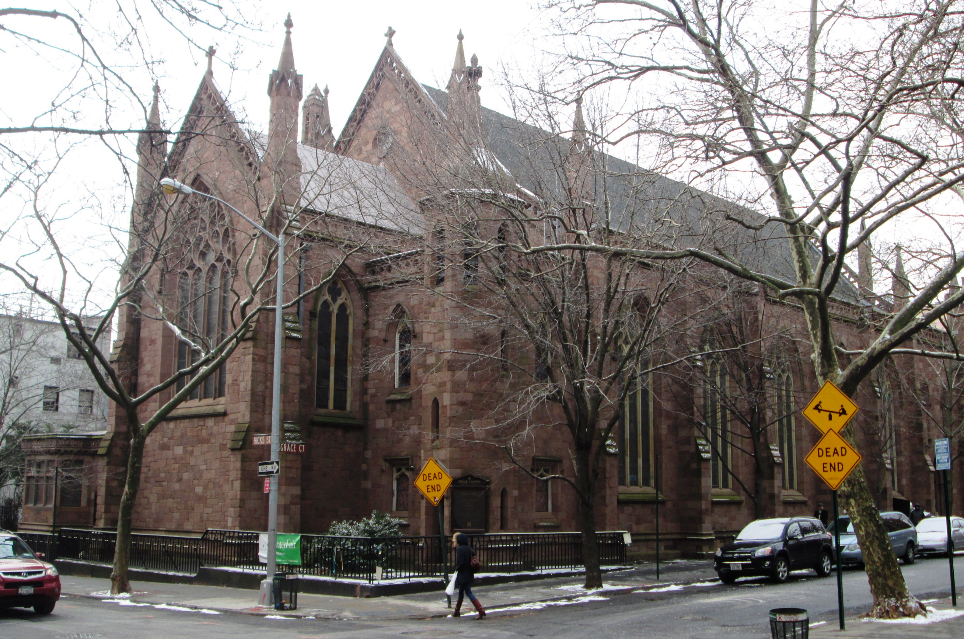 Brooklyn Heights Seminary  Ring Stone