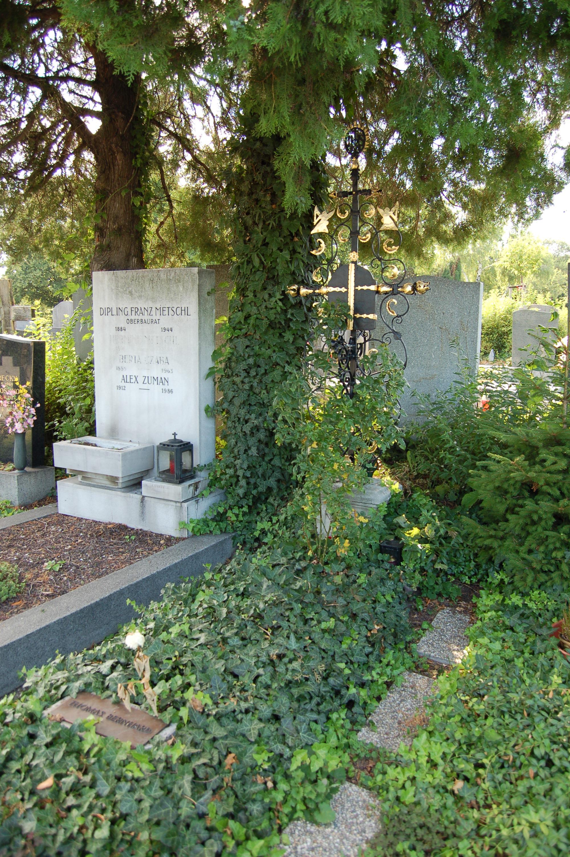 LA REPÚBLICA DE LAS LETRAS - Página 3 Grinzinger_Friedhof_-_Thomas_Bernhard