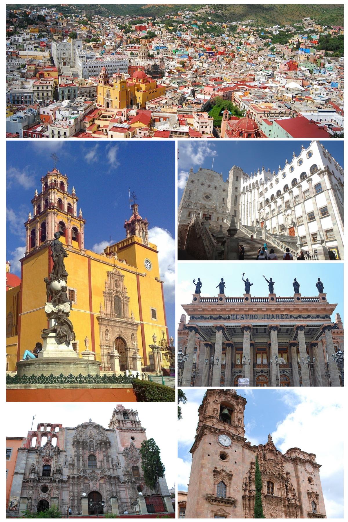 Guanajuato guanajuato wikipedia la enciclopedia libre for Cuales son las caracteristicas de un mural