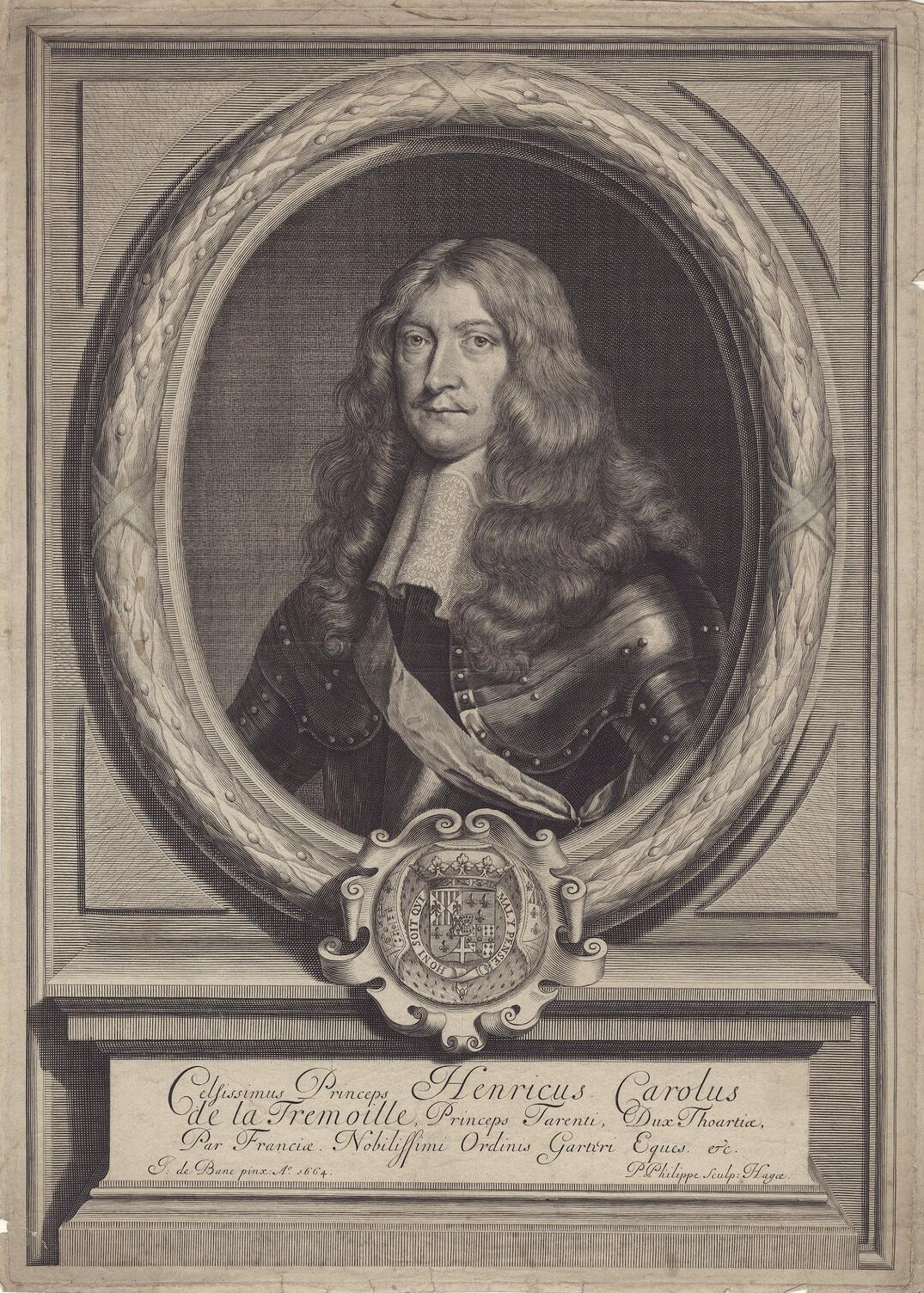 Henri Charles de La Trémoille - Anführer der Fronde