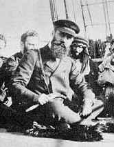 בנימין זאב הרצל על ספינה בדרך לארץ ישראל, 1898