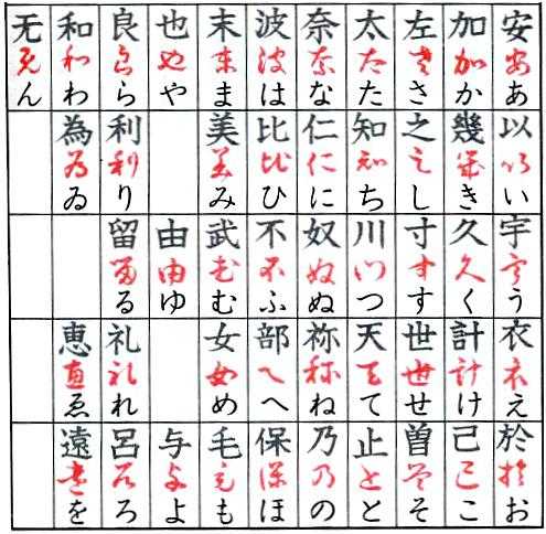 japanese writing table