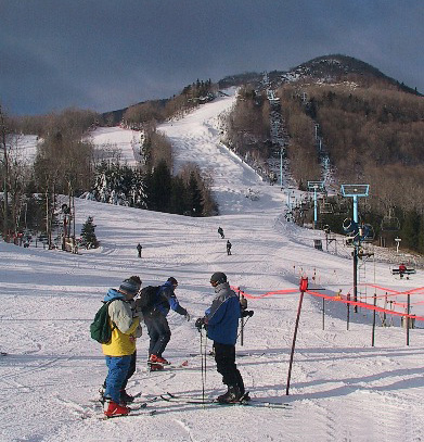 skiing holiday on Catskill Mountains