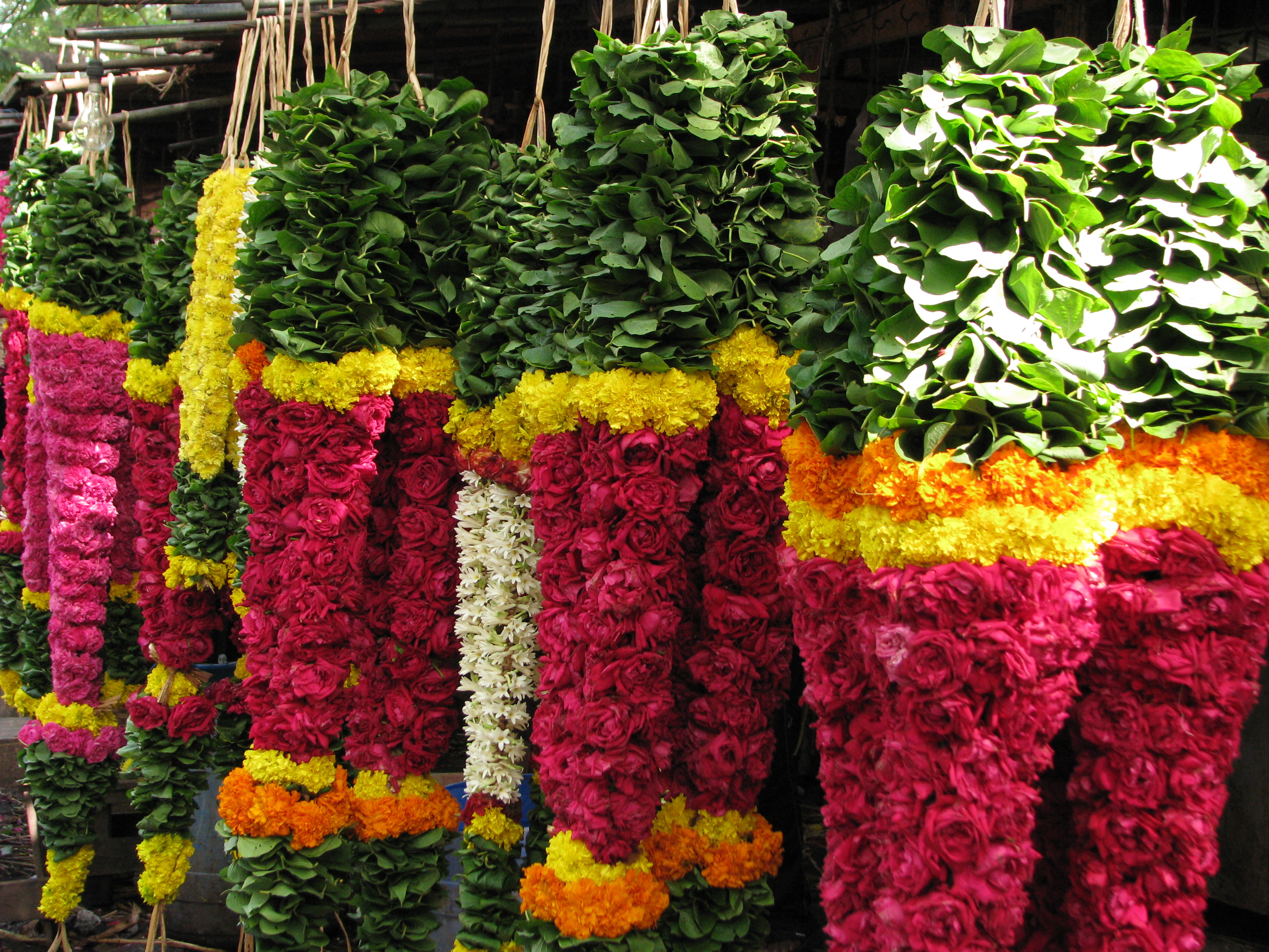 File India Chennai Colours Heavy Garlands For Sale 3058669185