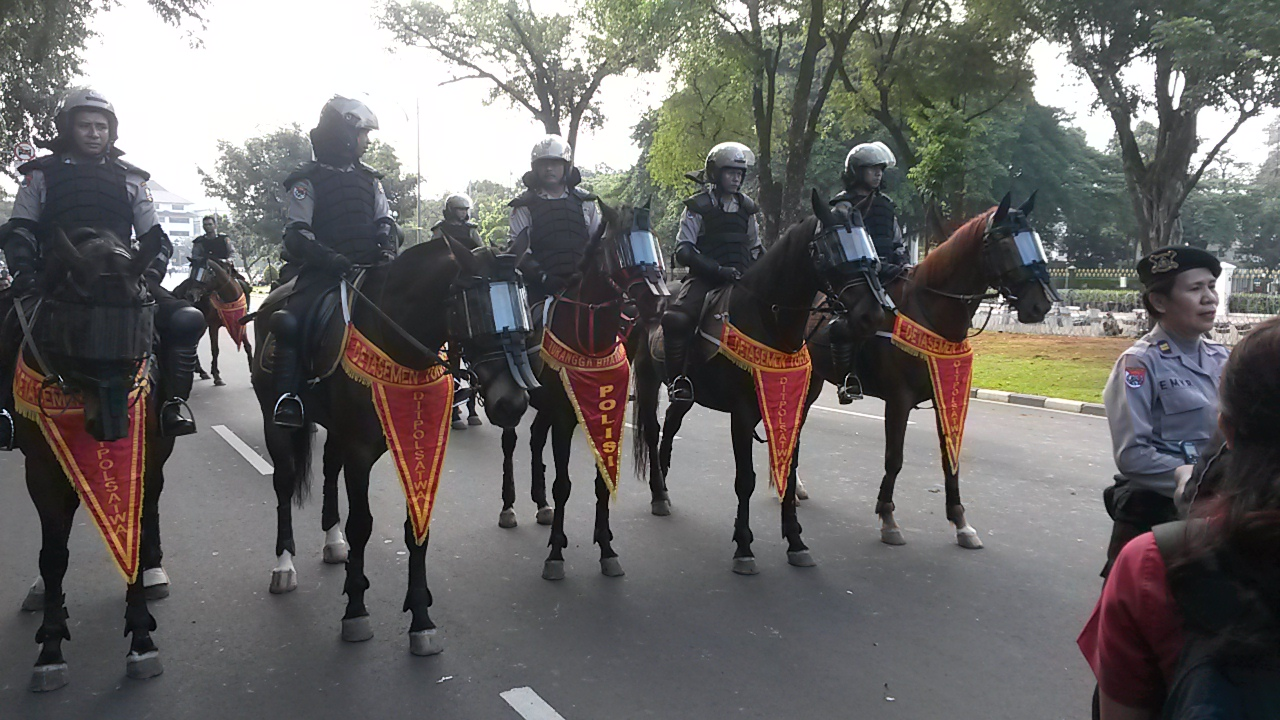 how to become mounted police