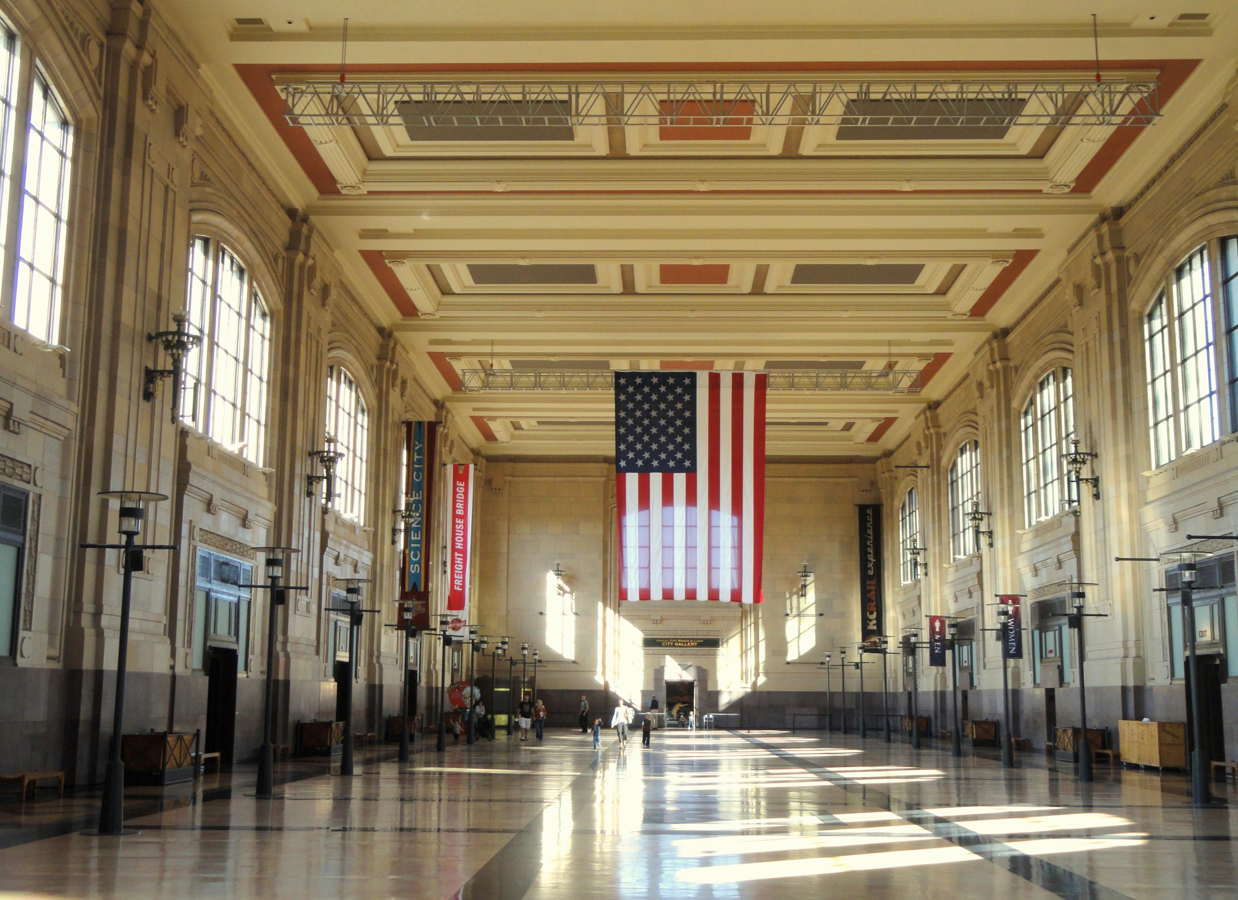 Kansas City Central Train Station