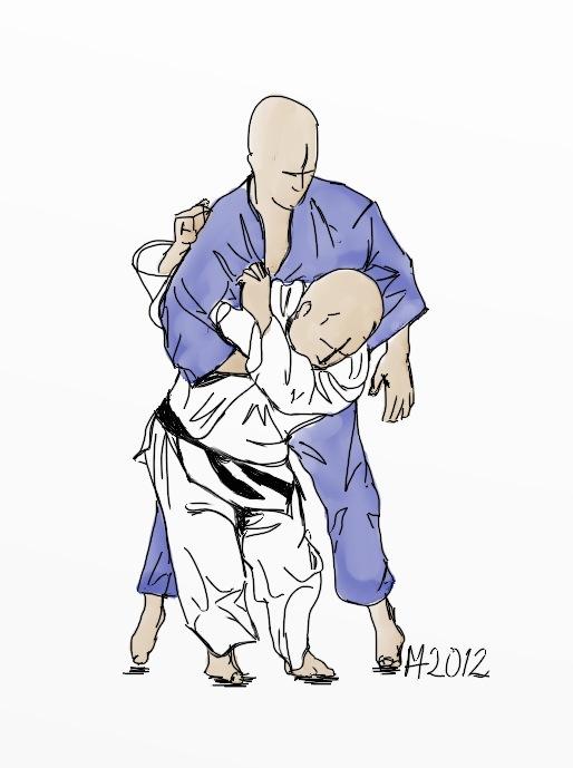 Ippon seoi nage judo