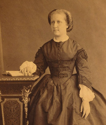 Isabel of Braganza, Princess Imperial of Brazil signed the Lei Aurea in 1888, abolishing slavery in Brazil. Isabel, Princess Imperial of Brazil (cropped).jpg