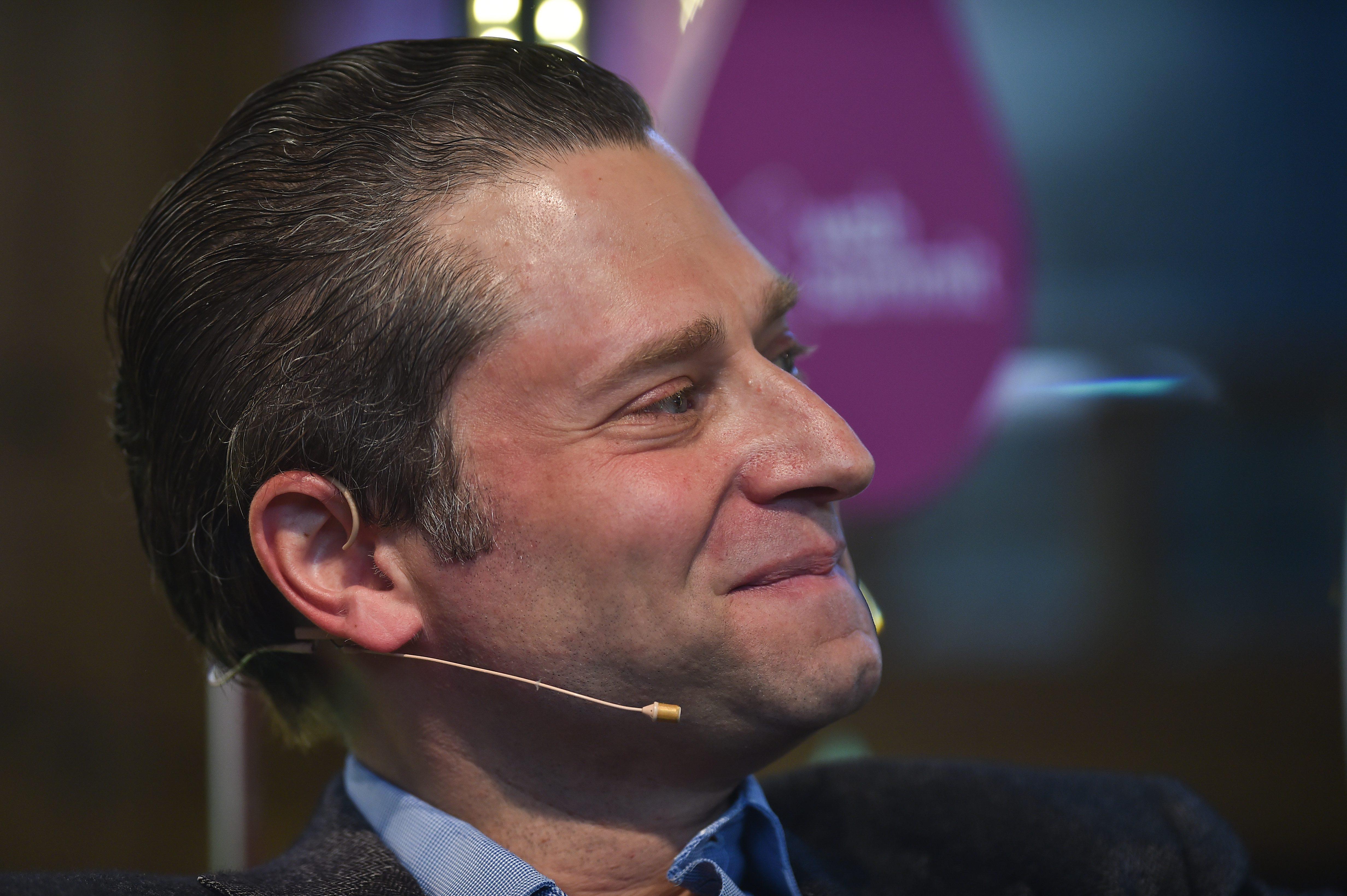 Schaap at [[Web Summit]] in 2014