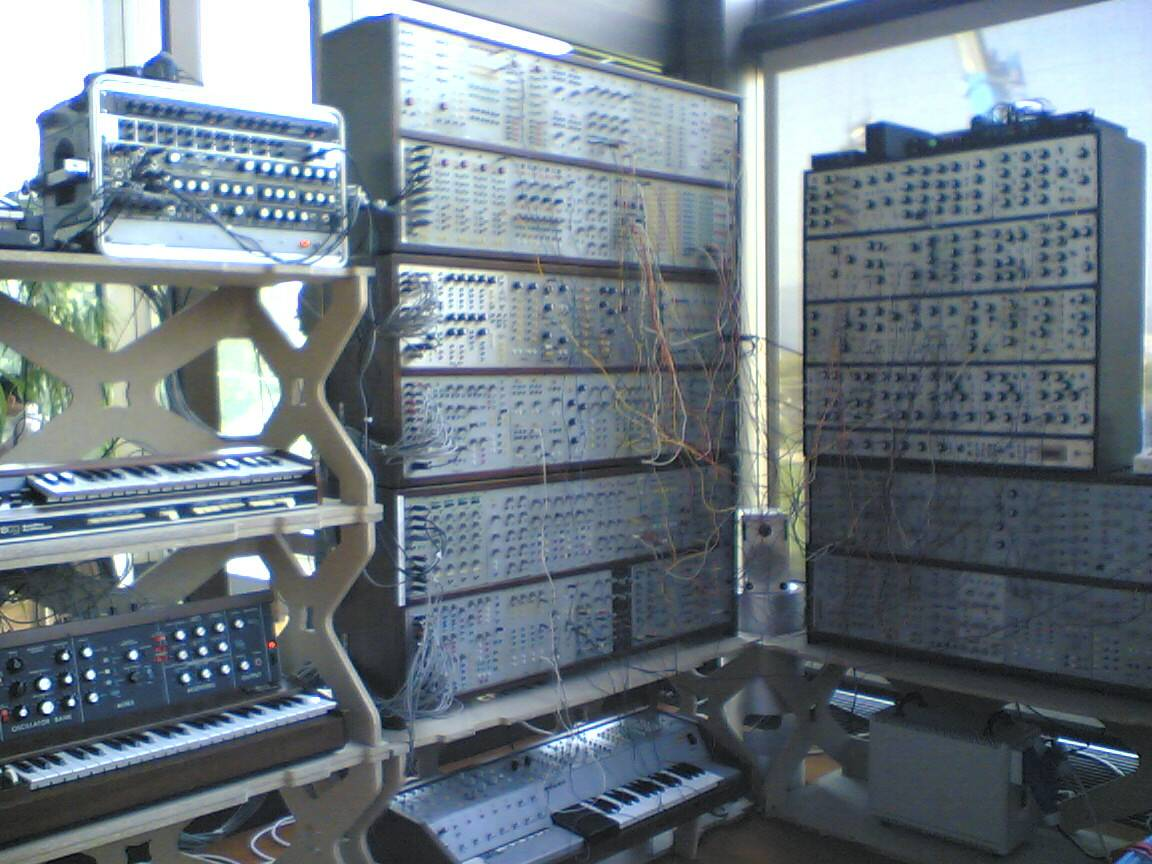 Joe Paradiso's Modular Synthesizer ARS Electronica 2004