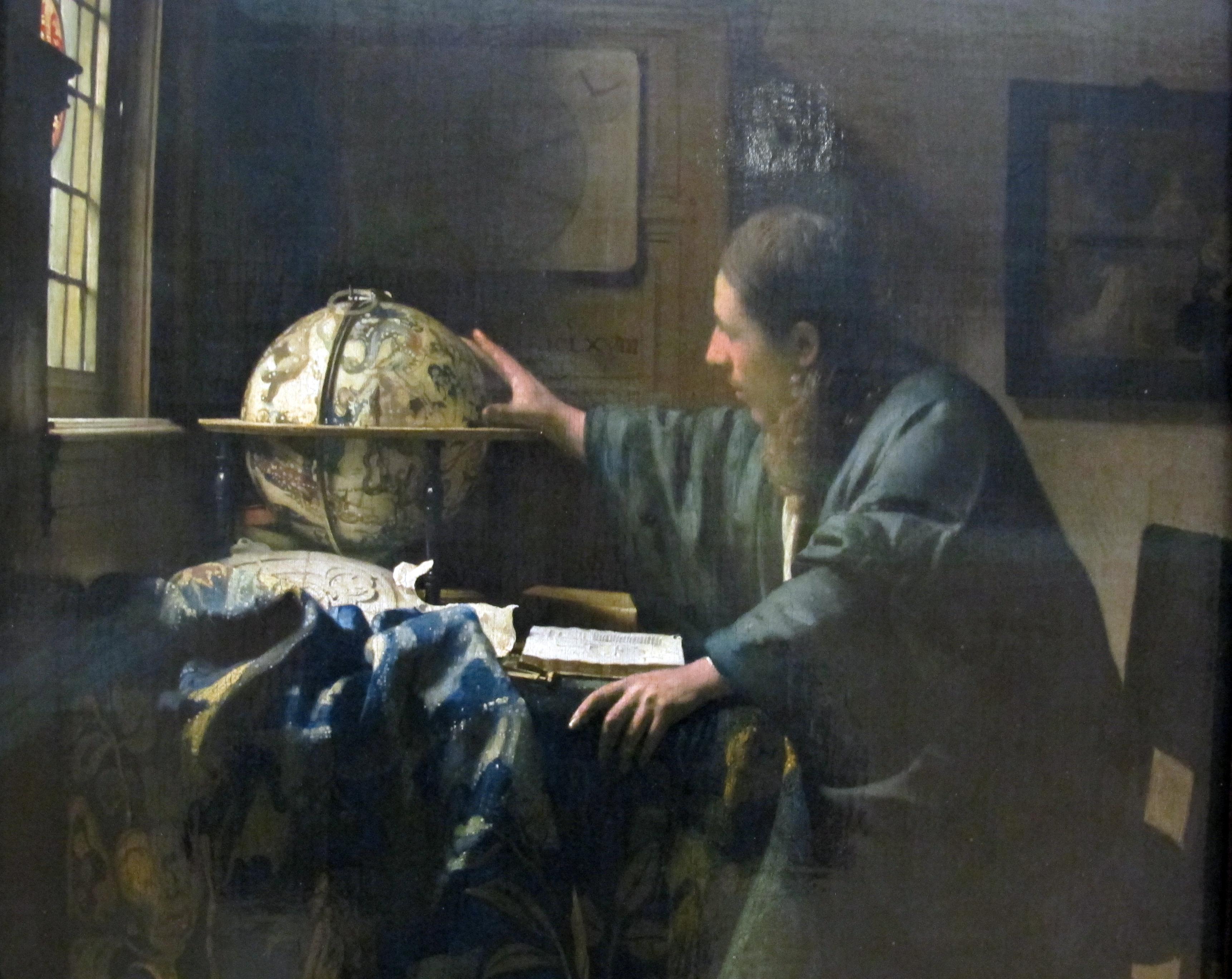 Dealer For The People >> File:Johannes vermeer, l'astronomo, 1668, 02.JPG - Wikimedia Commons