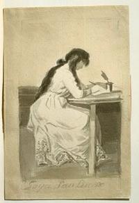 Grabado de María Josefa García Granados.