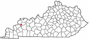 Loko di Clay, Kentucky