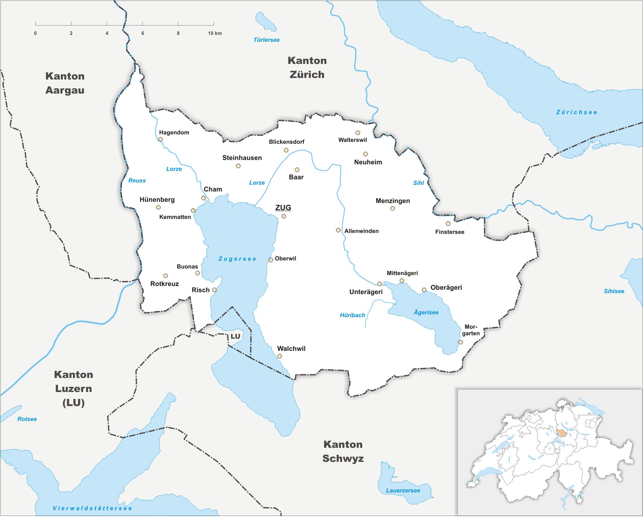 Canton of Zug - Wikipedia