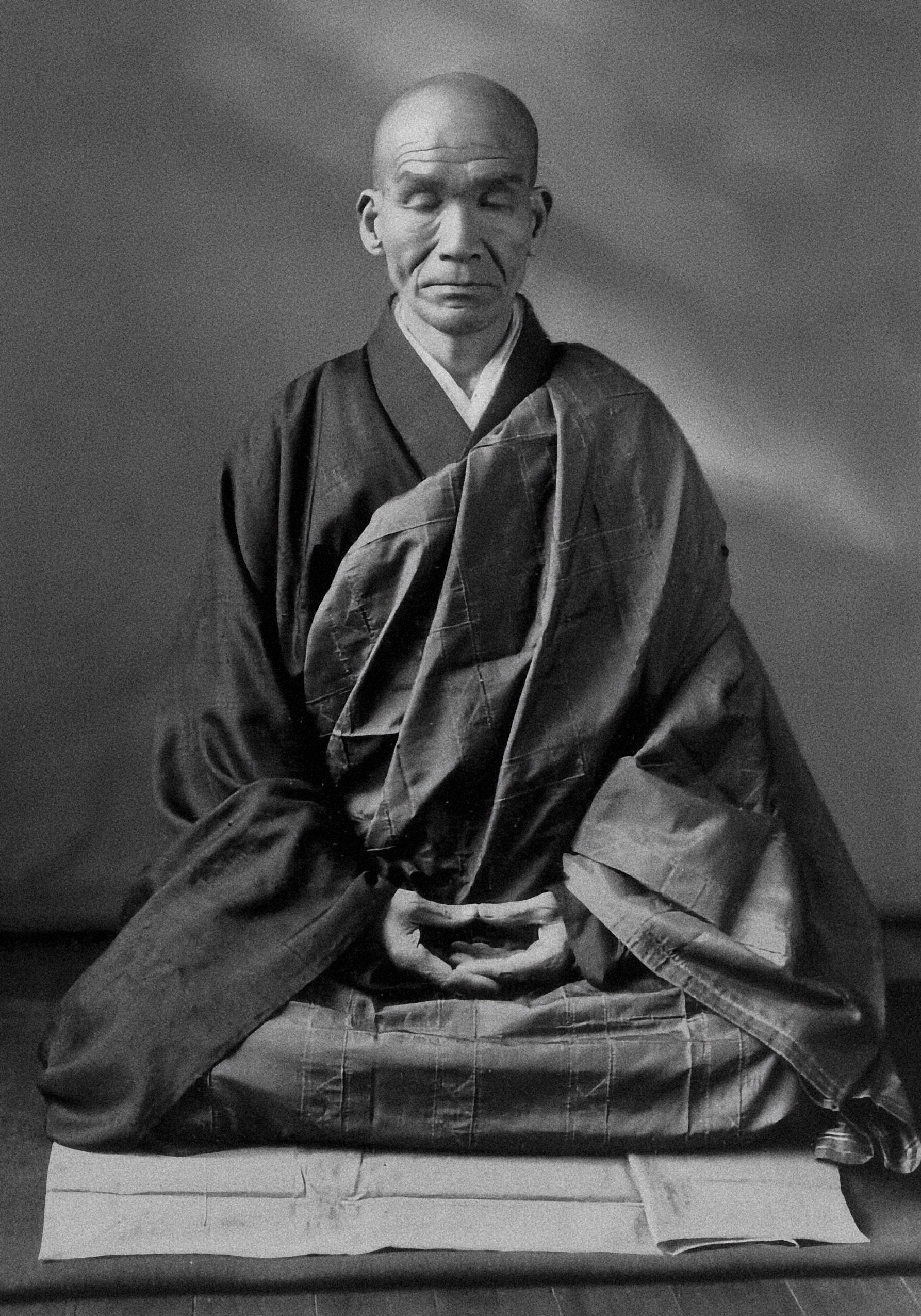 Bilderesultater for silence meditation zen monk