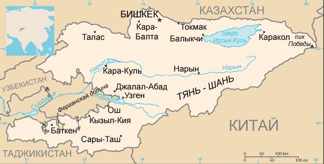 АДМ Киргизия