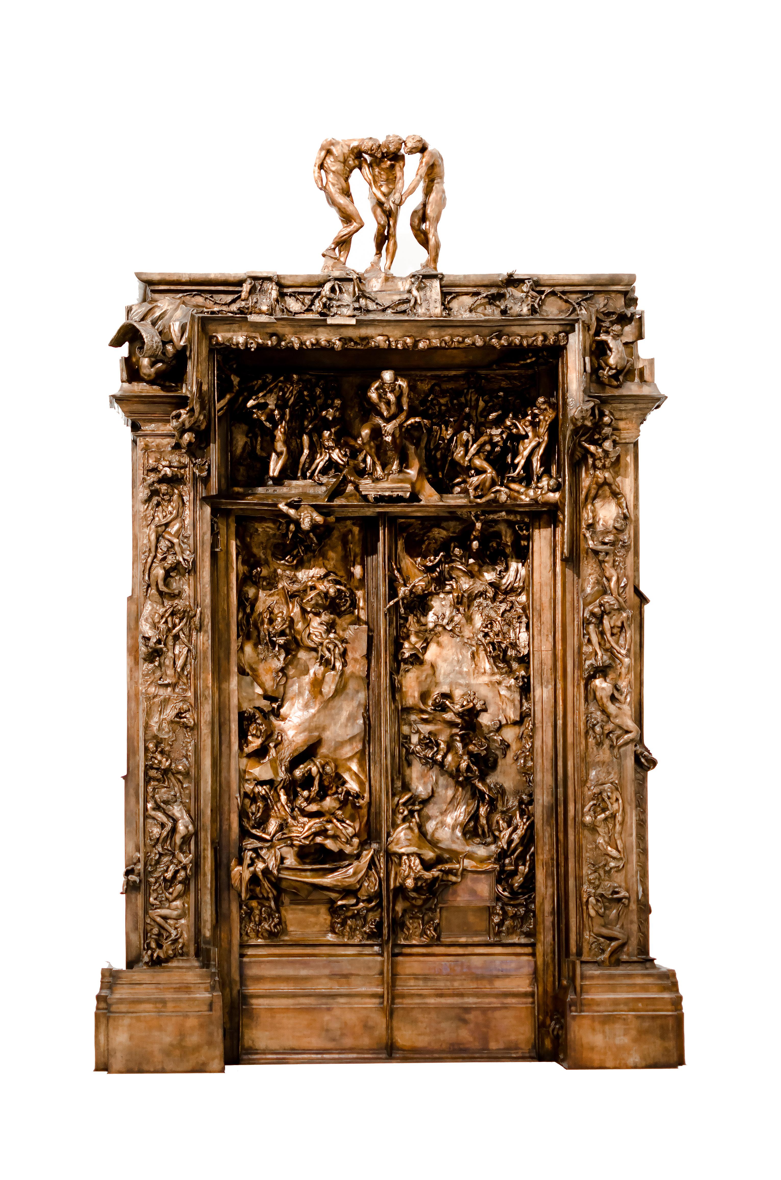 La Puerta Del Infierno Escultura Wikipedia La Enciclopedia Libre