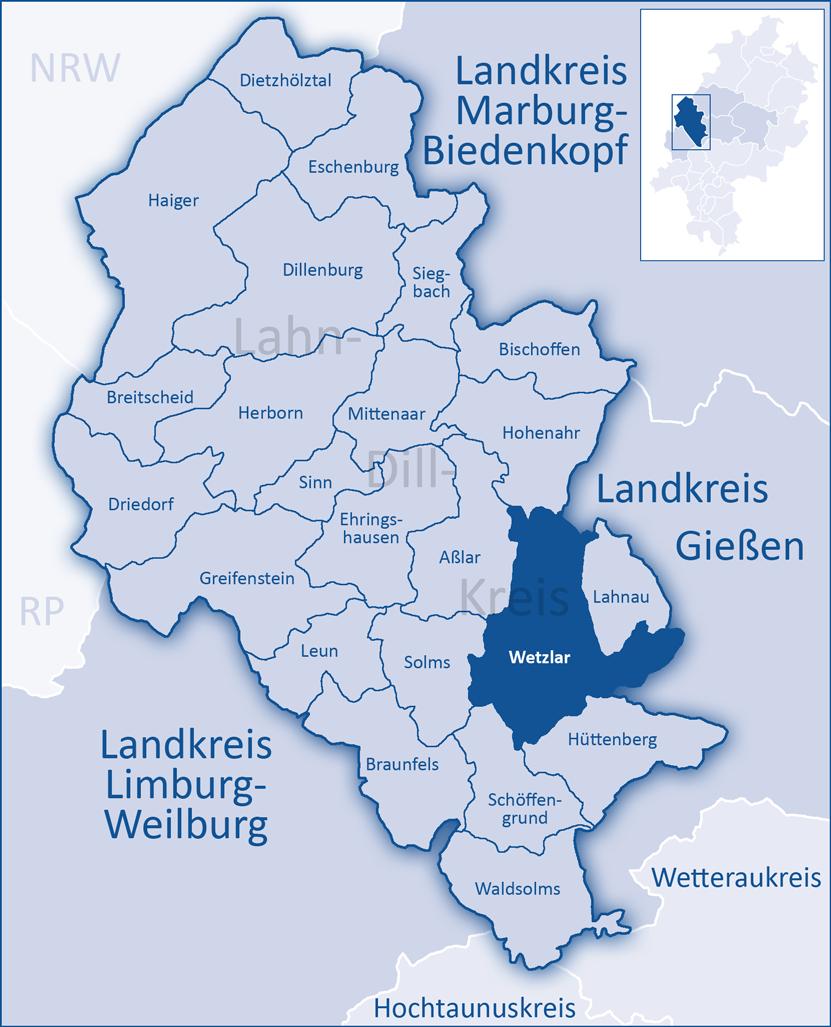 wetzlar karte Wetzlar – Wikipedia wetzlar karte