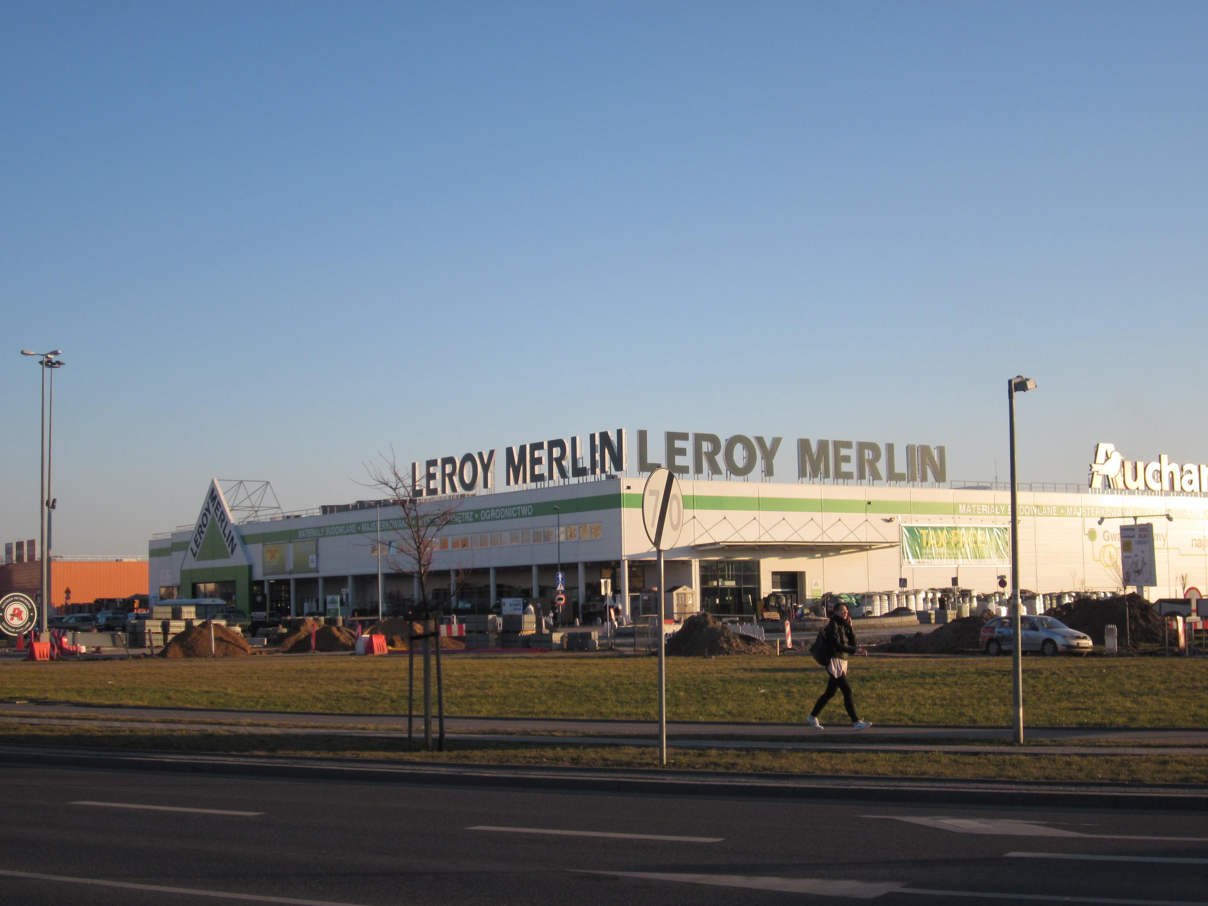 File Leroy Merlin In Bialystok Hetmanska 0 Jpg Wikimedia Commons
