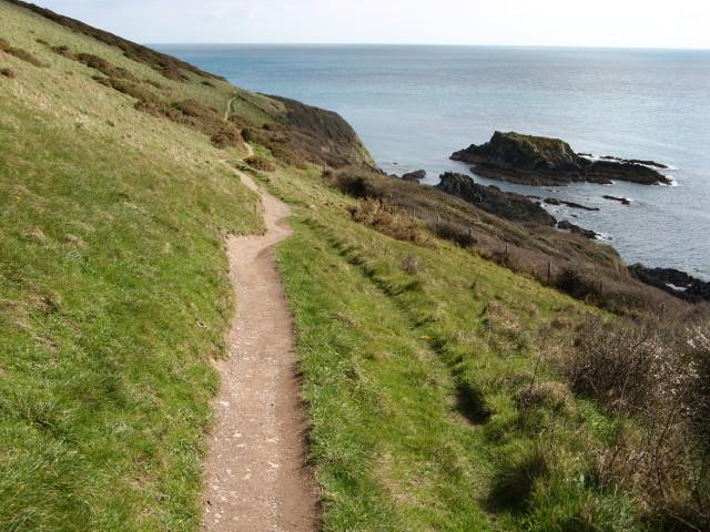 Looe, coast path between Talland and Looe - geograph.org.uk - 368495