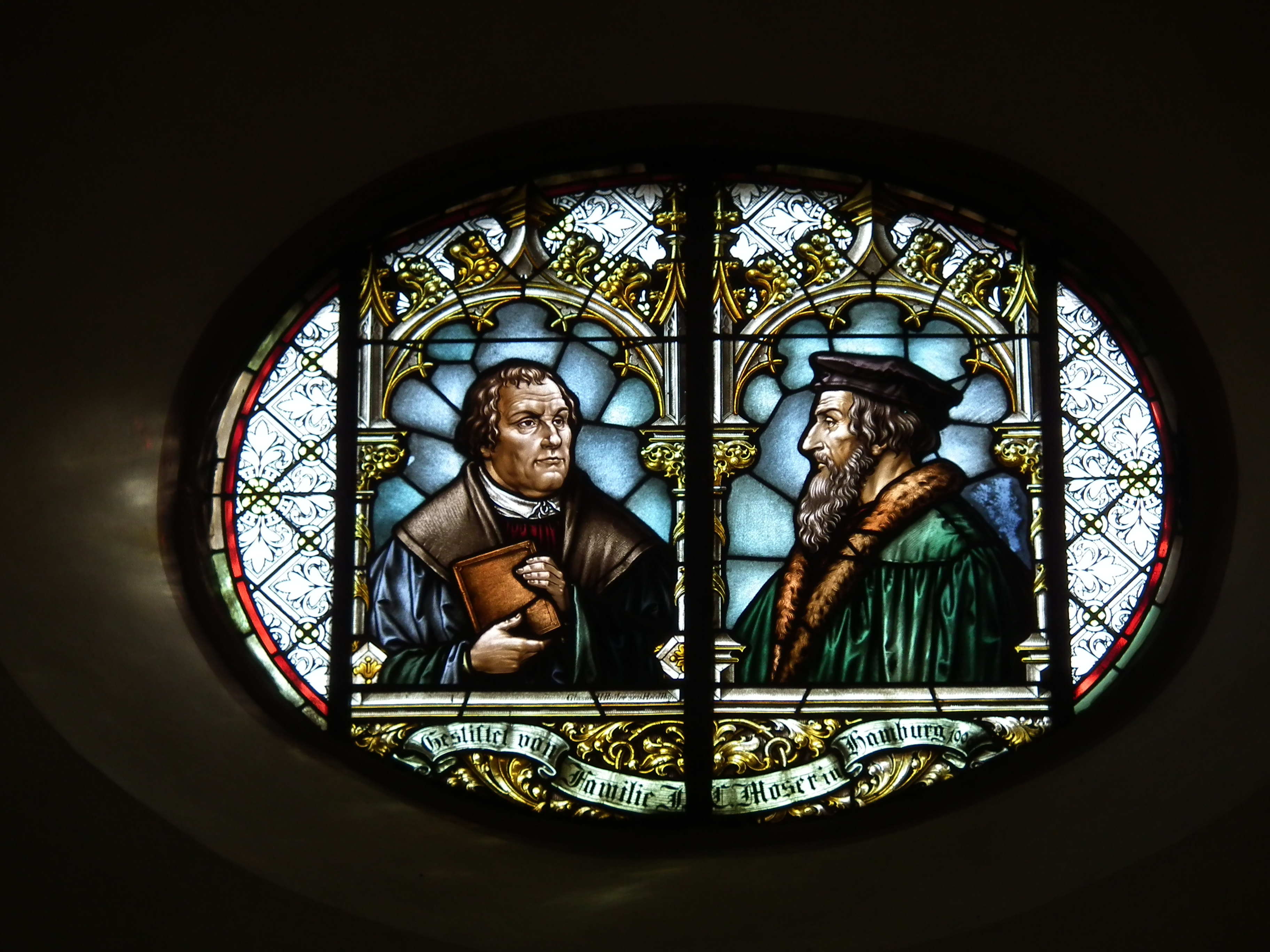 martin luther and john calvin against the roman catholic church